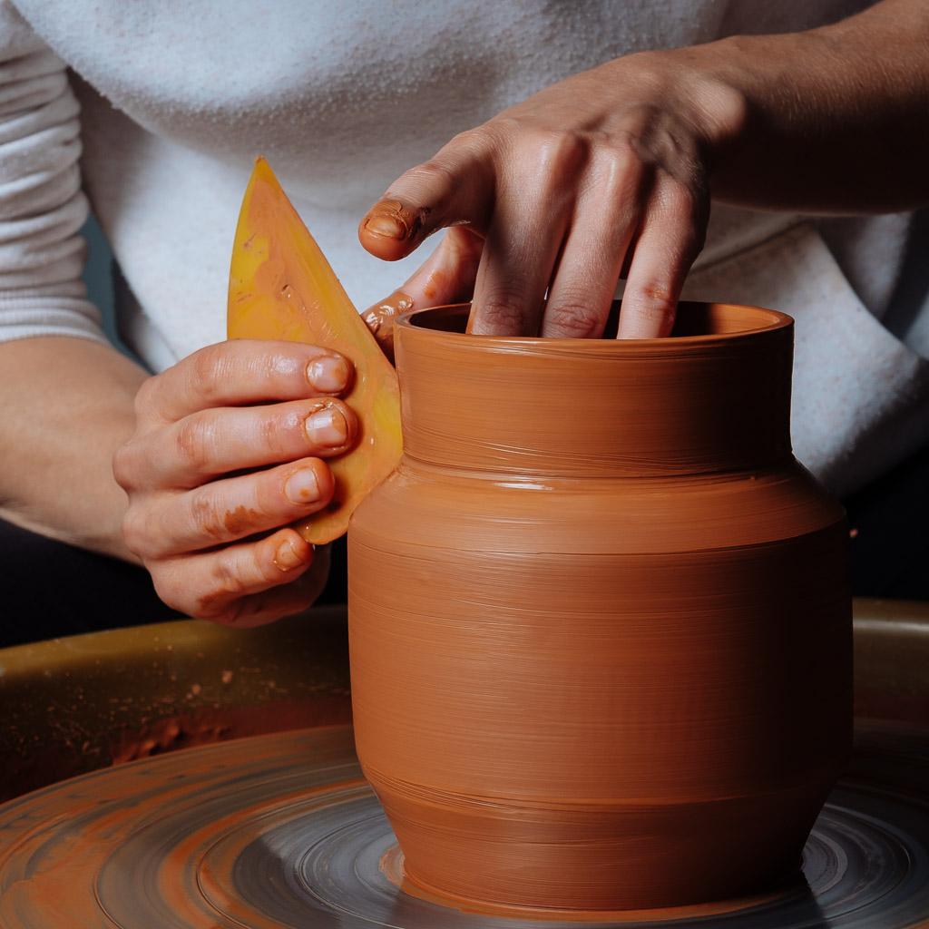 Atelier céramique tour