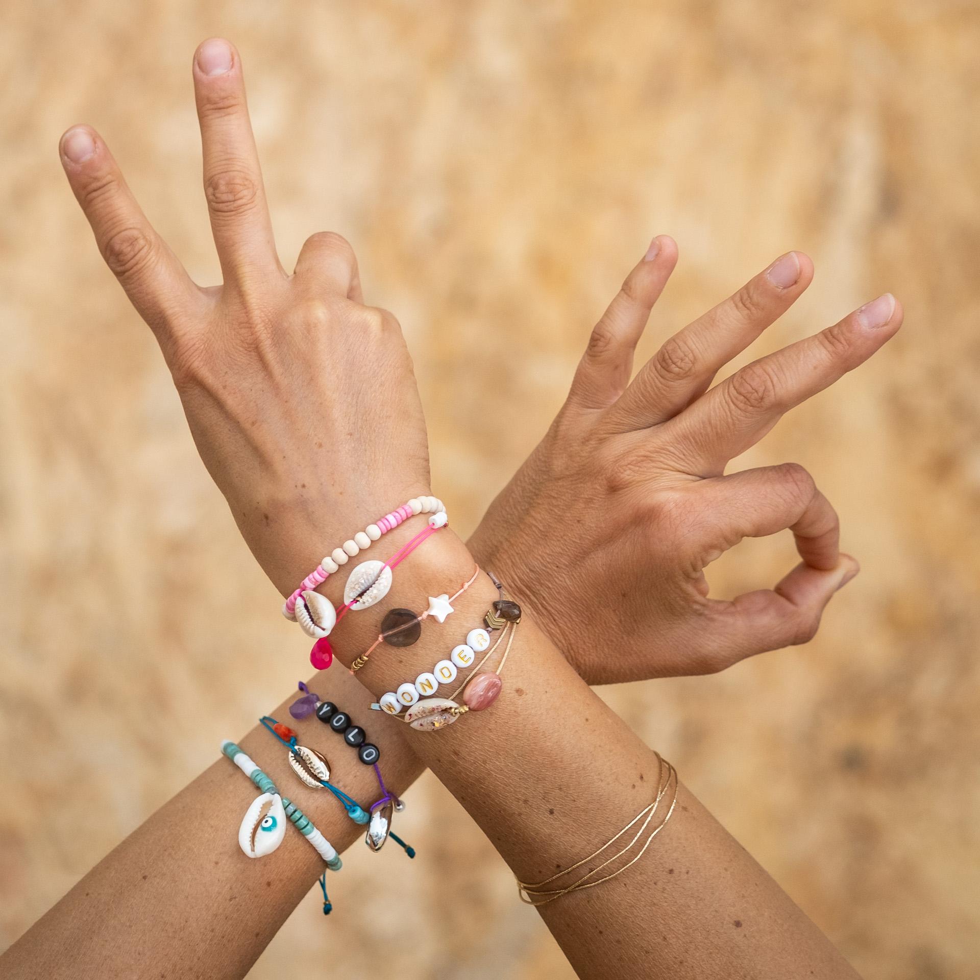 Bracelet grigri Hybride