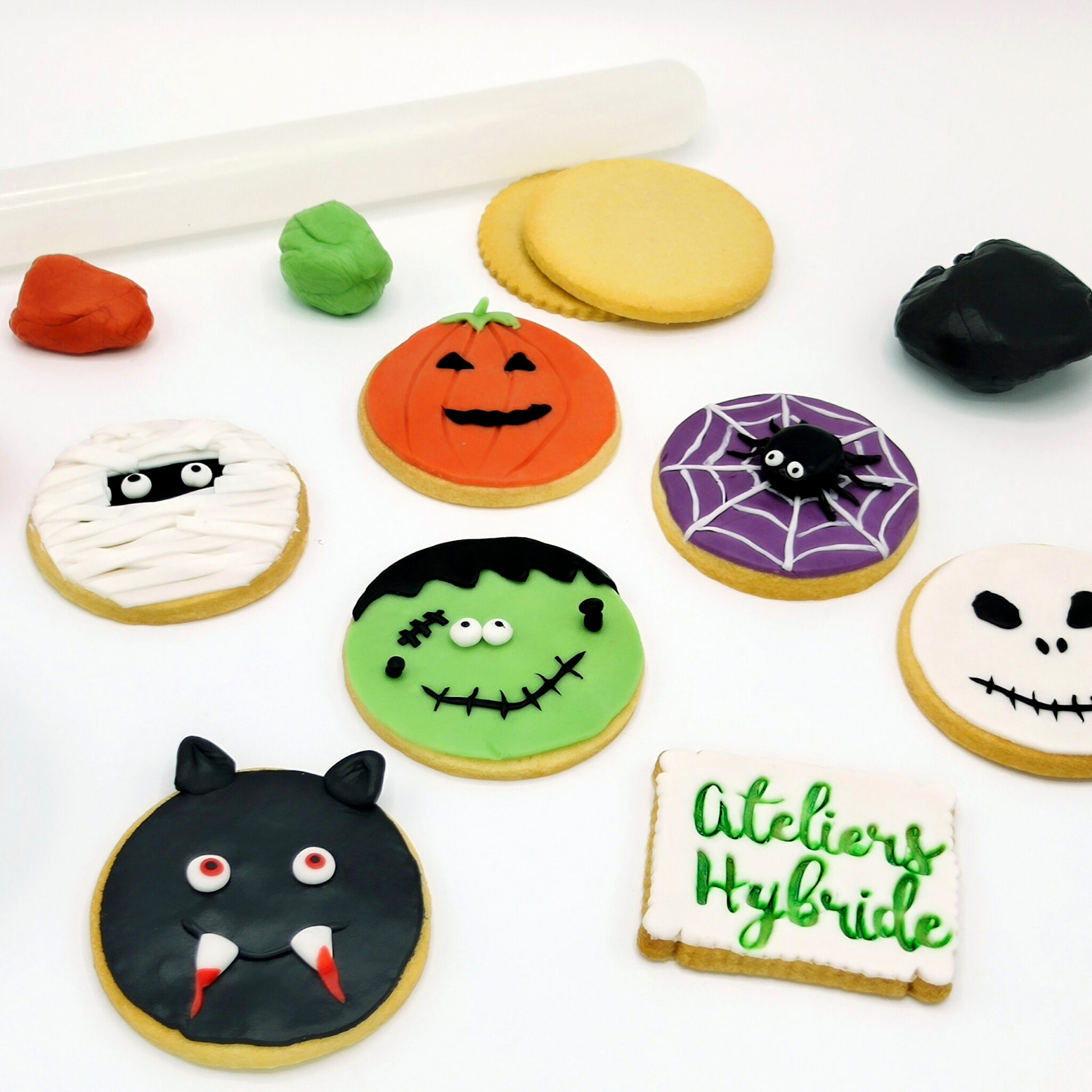 Pate a sucre Halloween
