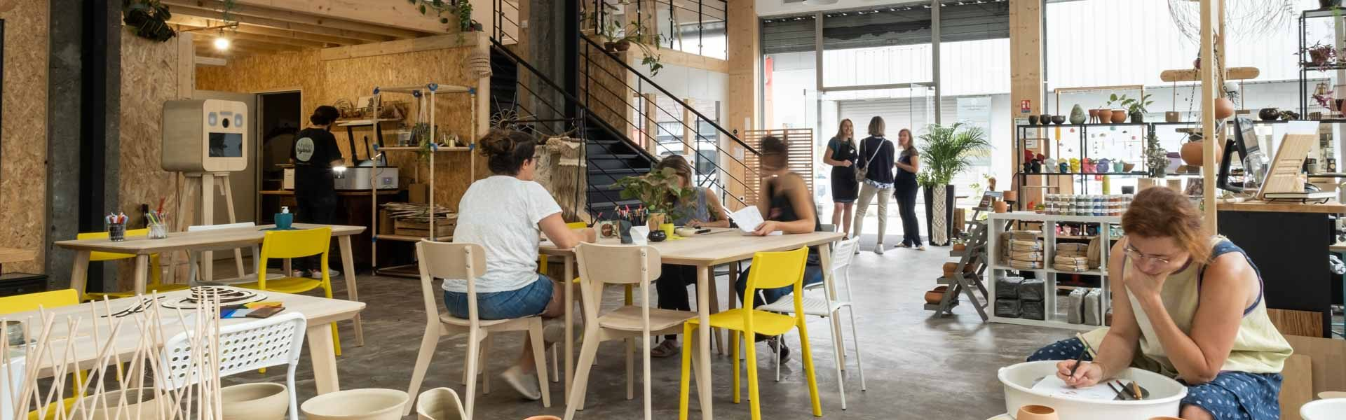 Ateliers Hybride, Tiers-lieu créatif à Pau